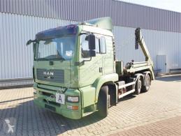 Kamión vozidlo s hákovým nosičom kontajnerov MAN TGA 26.460 6x2-4 BL 26.460 6x2-4 BL mit Vorlauflenk-/liftachse