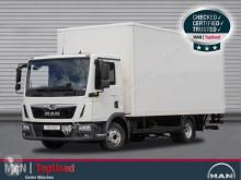 Camión MAN TGL 8.190 4X2 BL Koffer 6m, Ladebordwand, Tempomat furgón usado