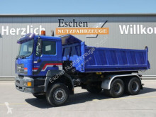 MAN 27.414 DFAK 6x6, Meiller Kipper, Blatt, Schalter truck used three-way side tipper