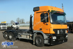 Camion multibenne Mercedes 2541 6x2 Actros, Euro 3, Palfinger T20, AHK, TOP