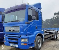Used container truck MAN TGA 26.480