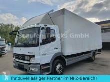 ciężarówka Mercedes Atego 1218 L Koffer LBW AHK dt. Fzg TÜV 01/21