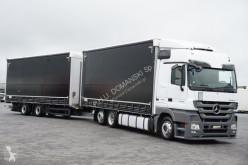 camião Mega MERCEDES-BENZ - ACTROS / 2544 / EEV / ZESTAW 120 M3 / SPACE + remorque