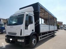 Camion Iveco Eurocargo Iveco - 120E28 CENTINATO 6.30 PEDANA TACHIGRAFO DISCO - Centinato alla Francese savoyarde occasion