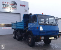 Camion ribaltabile usato Steyr 1491, Tipper 6x4, Full Steel, big axles ,6 CYLINDERS