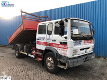 Camion Renault Gamme M 210 Steel suspension, Manual, Palfinger crane, Double cabin, Hub reduction benne occasion