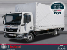 Camião MAN TGL 12.250 4X2 BL caixa aberta com lona usado
