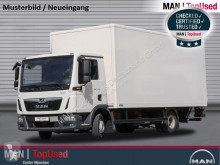 Camion fourgon occasion MAN TGL 8.190 4X2 BL Koffer 6m, Ladebordwand, Klima