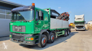 Used flatbed truck MAN 35.414 - 8x4 Tempomat