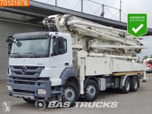 Camion béton malaxeur + pompe Mercedes Axor 4140