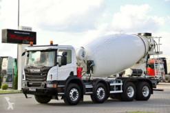 Scania LKW Betonmischer Kreisel / Mischer P 410 / CEMENTMIXER 9M3/13 000 KMS !!/FRUMECAR /