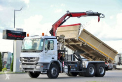 camion Mercedes ACTROS 3336/6x4/2 SIDED KIPPER+CRANE FASSI F110