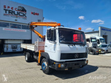 Camion benne occasion Mercedes 1117, TIPPER WITH CRANE 4X2, FULL STEEL, MANUAL