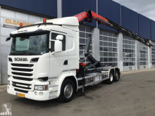 Scania R 520 truck used hook arm system