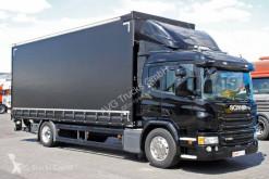 Kamyon tenteli platform Scania P 360 Schiebelane Edscha LBW Liege Alcoa