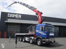 Camión caja abierta Scania G 490