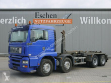 MAN skip truck TGA 35.360 FFDLC, 8x4, EUR 3,Multilift LHS 32061