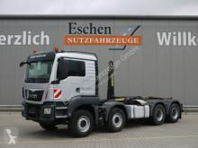 Camion multibenna usato MAN TGS 35.440 BL,EURO6,8x4, Palfinger Abrollkipper
