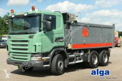 Camión multivolquete Scania G480CB6x4, Mulde 17m³, Plane, 16-Schalter,Euro 4