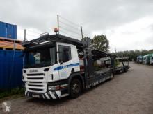 Камион автовоз втора употреба Scania P 380