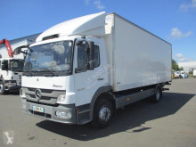 Used plywood box truck Mercedes Atego 1224