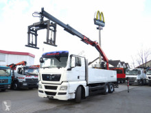 Camion plateau MAN TG-X Intarder, Lenkachse