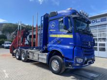 Camion Mercedes Arocs 3363 6x4 Holztransporter Palfinger Q170Z96 occasion