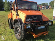 Camion Mercedes Unimog u110 3way tipper benne occasion