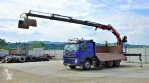 Camion Volvo FM 500 Kipper+Bordmatic 5,10m+Kran/FUNK! plateau occasion