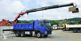 Camion Volvo FM 500 Kipper+Bordmatic 5,10m+Kran/FUNK! ribaltabile usato