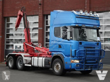 camion Scania 144.530 - - Hooklift - Full air - Manuel gearbox -