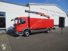 camion Mercedes Atego 1224 4x2 Atego 1218 4x2 Kran Palfinger PK 10501 Funk