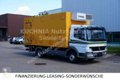 Gebrauchter LKW Kühlkoffer Mercedes Atego 818L TBV-Tiefkühlkoffer 5,26m LBW Türen