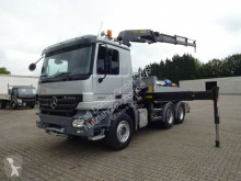 Camion plateau ridelles Mercedes Actros 2644 Pritsche+PK20002 3xhydr. Funk 6x4