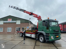 Camion plateau Iveco AT260S36Y/PS | | HMF Crane + RC | APK