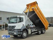 Kamión vozidlo s hákovým nosičom kontajnerov Mercedes 3340 K Axor 6x4, Mulde 18m³, Schalter,Gr. Federn