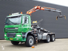 Camion porte containers occasion Ginaf X 3335 S / CRANE + CONTAINER SYSTEM