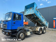 camion MAN 27 314 manual full steel meiller bi-benne