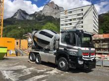 használt betonkeverő beton teherautó