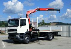 Camión caja abierta DAF CF 85.380*Pritsche 5,80m+KRAN *4x2*Topzustand!