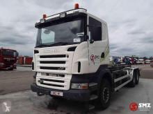 Camión Scania R 480 portacontenedores usado