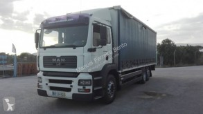 Used tautliner truck MAN TGA 26.310