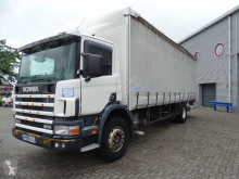 Scania tautliner truck 94-260 / MANUAL / CURTAINSIDE BOX / / 2001