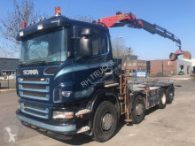Camion Scania R 420 porte containers occasion