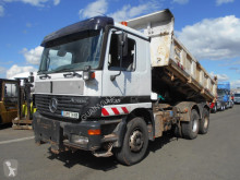 Used two-way side tipper truck Mercedes Actros 3335
