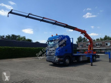 camion Scania R480 Pritsche+TEREX390 5xhydr 4Punkt Cont.Verieg