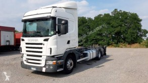 Camion Scania R420 porte containers occasion