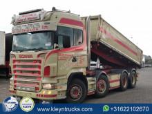 Camião Scania R 500 tri-basculante usado