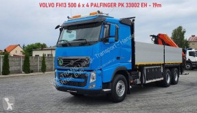 Camion plateau ridelles Volvo FH13 500