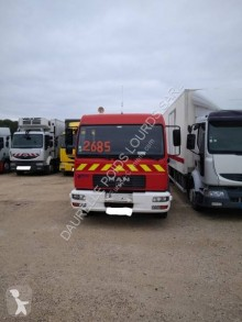 MAN LE 180 C truck used fire